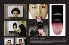 Interactive Tongue Posters