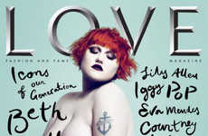 Beth Ditto Bares All For 'Love'