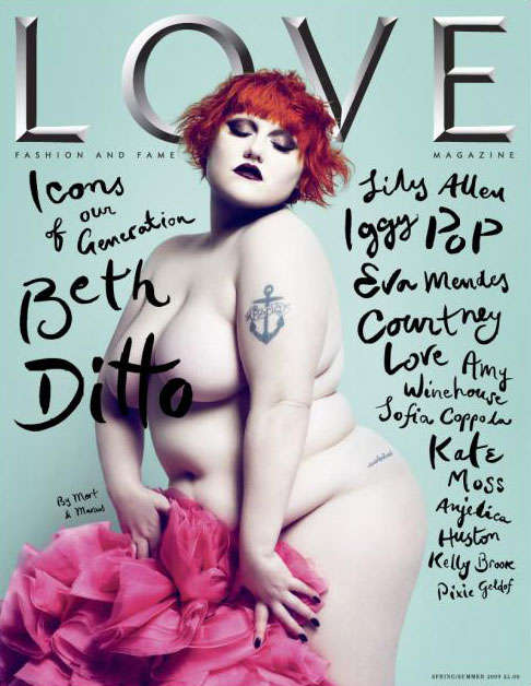 Naked Plus-Sized Cover Models