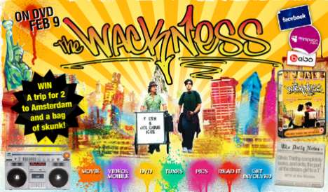 "Golden Ticket Movie Promos - ""The Wackness"" Holds Willy Wonka-Style Skunk Giveaway"