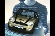 Interactive Webcam Ads - Mini Cabrio Augmented Reality Campaign