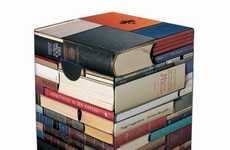 Stacked Book Furniture - Novel Home Decor for Bookworms and Bibliophiles