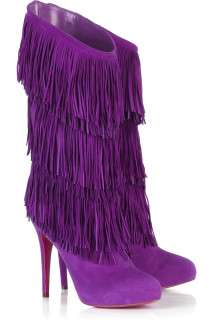 Fringed Footwear