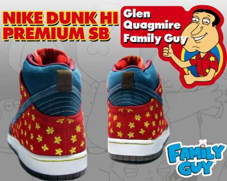 Cartoon Sitcom Sneakers