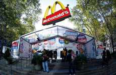 Credit Crunch Coffee Couture - New York Fashion Week Serves McD's Coffee, Parties are BYOB