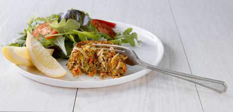 Upcycled Seafood Cakes - SecondsFirst Makes Fresh Fish Cakes from Repurposed Ingredients