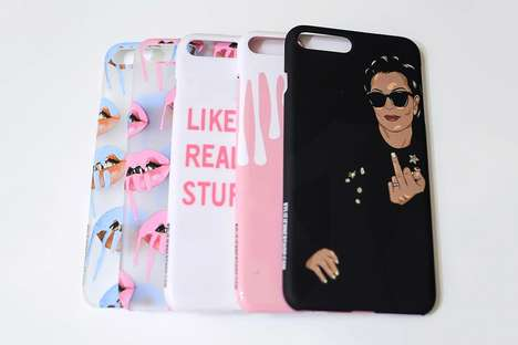 "Socialite Wisdom Phone Cases - This Kylie Jenner Case References Her ""Like Realizing Stuff"" Quote"