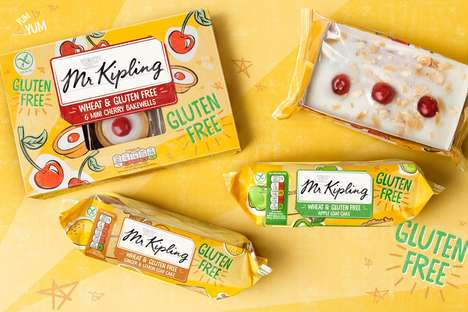 Free-From Cake Collections - Mr Kipling Has a New Range of Health-Focused Desserts