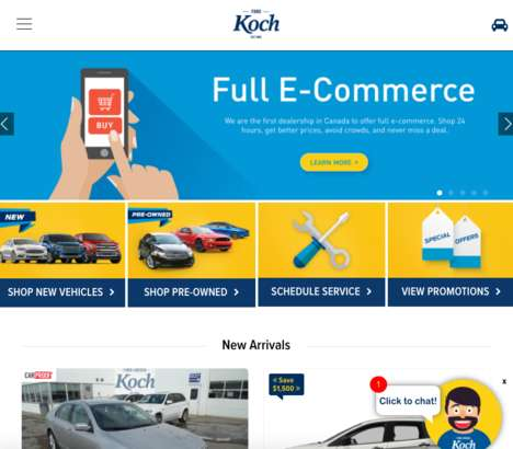 E-Commerce Dealerships - Koch Ford Lincoln is an Online Car Dealership for Browsing and Shopping