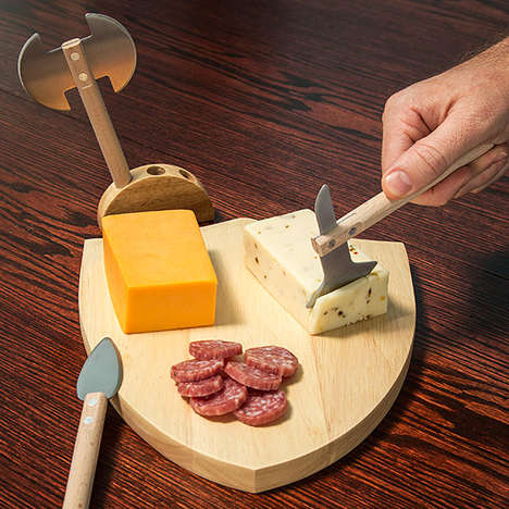 Warring Cheese Platters - The Medieval Cheese Board is Perfect for 'Game of Thrones' Watch Parties