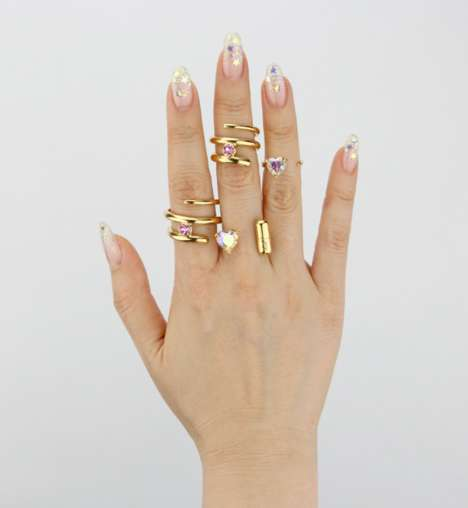 Stackable Ring Collections - HRH Collection Makes Jewelry to Mix and Match
