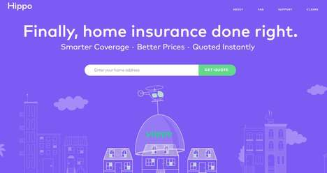 Nimble Home Insurance Sites - Hippo Home Insurance Uses Big Data to Speed Up Quotes