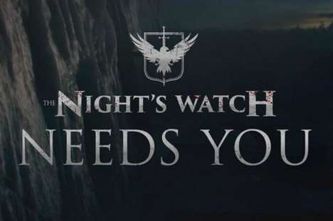 Fantasy TV Training Camps - Sky Atlantic is Inviting Game of Thrones Fans to Join the Night's Watch
