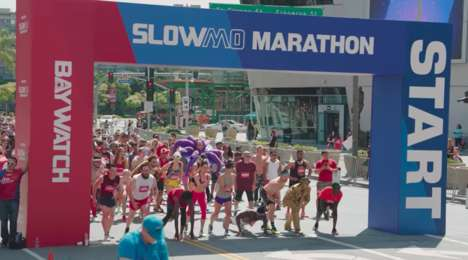 Slow-Motion Marathons - This Slow Running Event in Los Angeles Promoted the New Baywatch Film