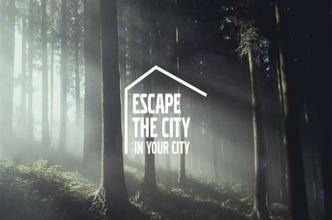 Urban Escapism Pop-Ups - Volvo's 'Escape the City in Your City' Offers Space to Find Serenity