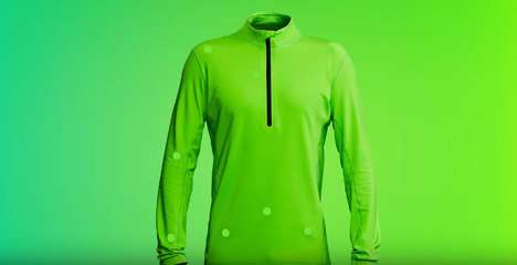 Hyper-Visible Athletic Jackets - The Nano Meter 555 Midlayer is Designed to be Maximally Visible