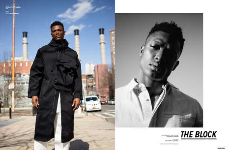 Functional Menswear Editorials - 'The Block' Series for The Ones 2 Watch Spotlights Rugged Outerwear