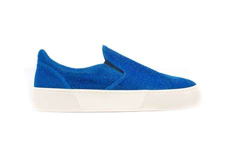 Shimmery Slip-On Shoes - Balenciaga Released Two Colorways of Its Slip-On Lurex Silhouette