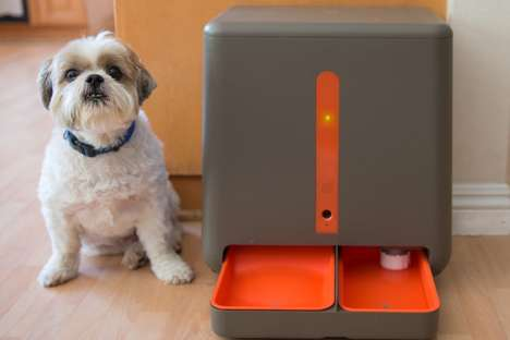 Connected Pet Feeders - The 'easyFeed' Automatic Pet Food Dispensers Provide Sustenance as Needed