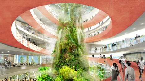 Futuristic Bio-Dome Designs - Florida's Waterfront Will Be Revamped with Bio-Climatic Domes