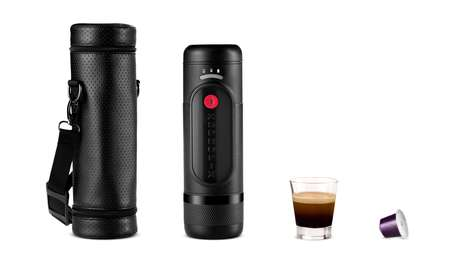 Battery-Operated Espresso Machines - The Ultra-Portable 'XSPROFIX' Runs on a Lithium Battery