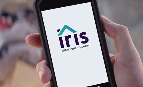 Mobile Home Security Systems - Lowe's 'Iris' Lets Users Monitor Their Home with a Smartphone