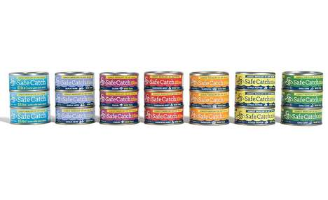 Mercury-Tested Flavored Tunas - The Safe Catch Elite Wild Tuna is Rich in Vitamins and Minerals