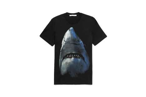 Revitalized Shark-Imbued Luxury Wear - This New Givenchy Collection Features Artful Shark Renditions