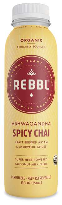 Ayurvedic Chai Beverages - REBBL's 'Ashwagandha Chai' is Made with Potent Spices and Super Herbs