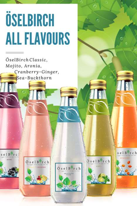 Fermented Birch Water Beverages - Oselbirch Offers Refreshing and Nutritious Beverages