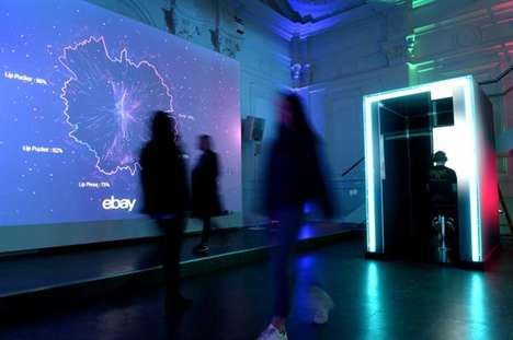 Emotion-Powered Pop-Up Shops - This eBay Pop-Up Used Facial Expressions to Help Shoppers Find Gifts