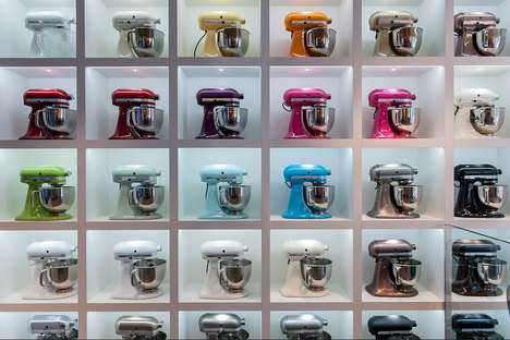Experiential Appliance Shops - KitchenAid's Experience Store Lets Shoppers Test Different Appliances