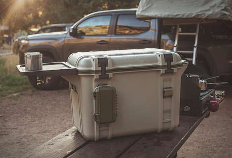 Rugged Bear-Resistant Coolers - The OtterBox Venture Cooler Box Stays Cool for Up to Two Weeks