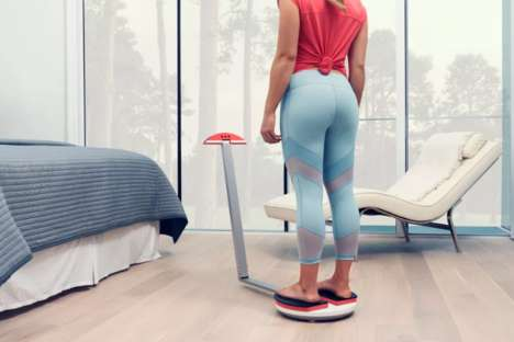 Fitness-Focused 3D Body Scanners - The ShapeScale Takes Precise Measurements Through 3D Scans