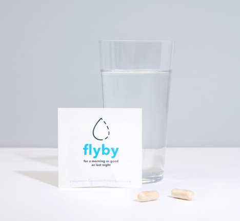 Vitamin-Based Hangover Pills - The 'Flyby' Supplements are a Preventative Cure for Hangovers