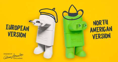 Anthropomorphized Phone Chargers - 'Mr. Charger' is a Fun Phone Charger from Eero Aarnio