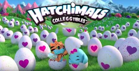 Interactive Egg Toys - Hatchimals Colleggtibles Have Color-Changing Shells That Reveal Surprises