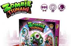Zombie Domination Board Games - The 'Zombie Tsunami' Party Board Game Has Players Form Undead Hordes