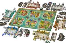 Multi-Terrain Domination Games - The 'Heroes of Land, Air & Sea' Multiplayer Board Game is Immersive
