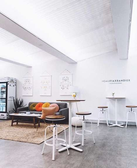 Healthy Latte Pop-Ups - Active Fashion Retailer Bandier is Hosting an In-Store Califia Farms Cafe
