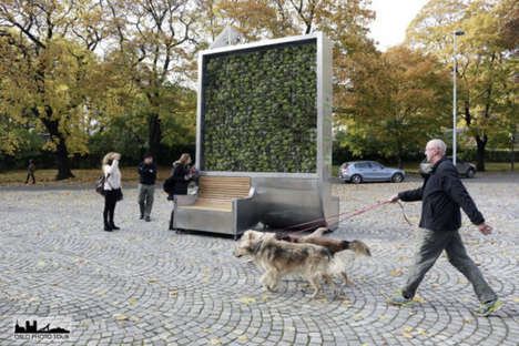 Urban Tree Installations - This German Start-Up Aims to Reduce Pollution Using Vertical Planters