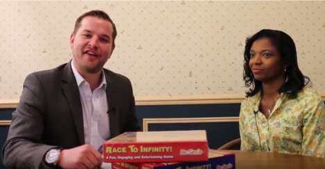 Math-Centric Board Games - The 'Race to Infinity' Game Helps Children Fall in Love with Mathematics