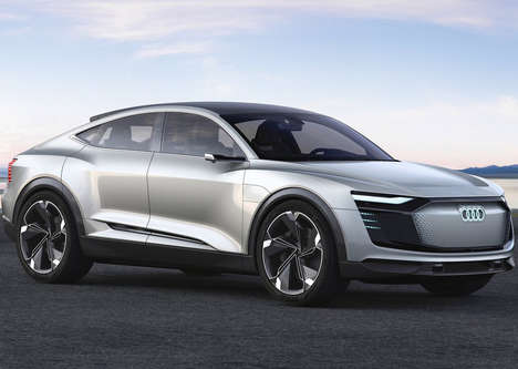Performance-Oriented Electric SUVs - A 500-Horsepower Audi E-tron Sportback Will Go on Sale in 2020
