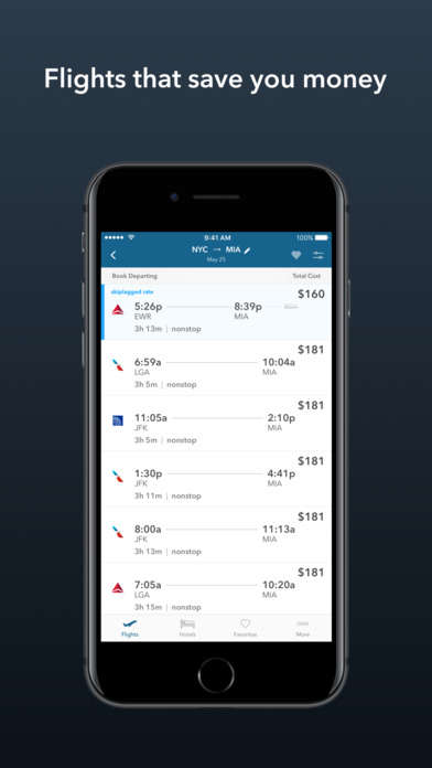 Sneaky Travel Site Apps - The Skiplagged App Lets You Book Hidden City Flights from Your Phone