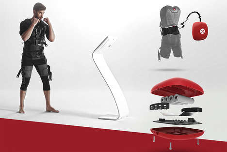 Muscle-Stimulating Workout Systems - The 'XBody Actiwave' Personal Training System Uses EMS
