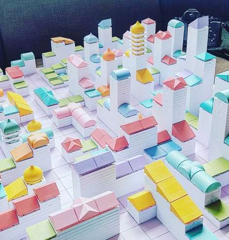 Cityscape-Building Modelling Systems - The New Arckit Set Lets Users Build Their Dream Cities
