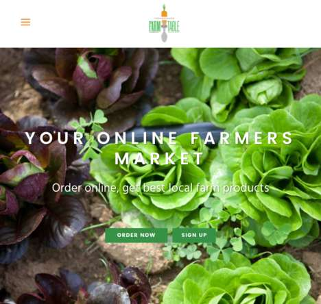 Online Farmer's Markets - Chesapeake Farm to Table Has Farmers Harvest Produce Orders on Demand