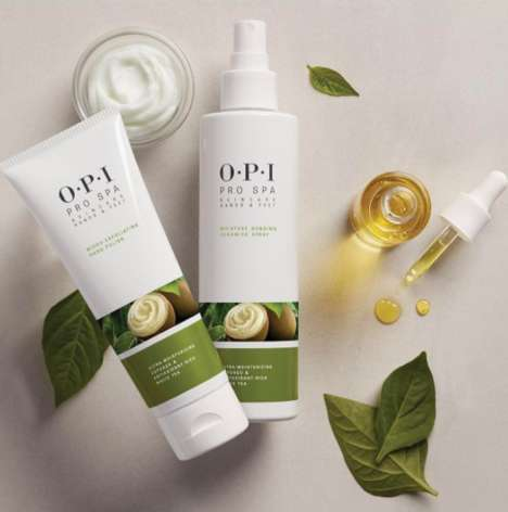 Nail-Focused Skincare Collections - O.P.I.'s 'ProSpa' Collection Focuses on Hand and Foot Care