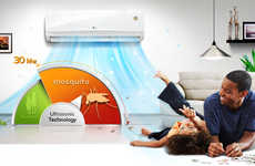 Mosquito-Repelling Air Conditioners