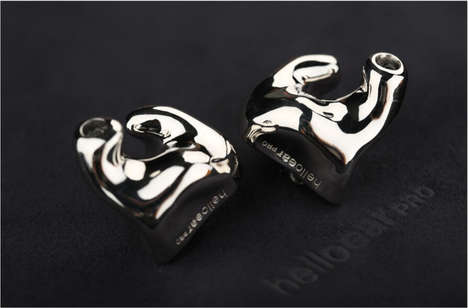 Custom-Molded Earbuds - HelloEar is Using Liquid Metal to Make Custom Molded In-Ear Monitors